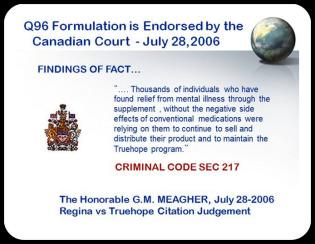 Canada Endorsement